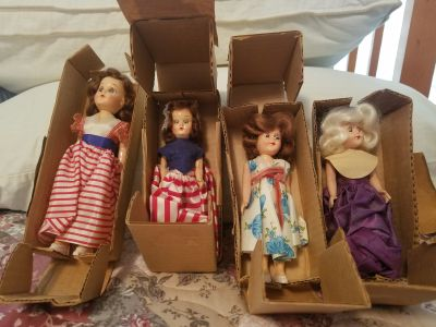 1950's Vintage Advertising Dolls