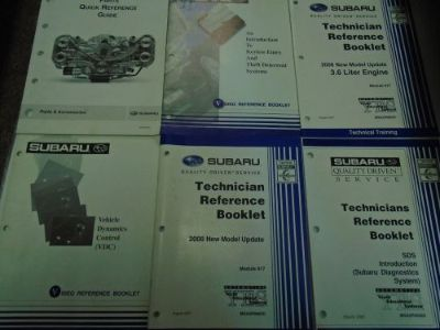 Find Subaru Reference Guide With Technical Training Set Factory OEM Books 6 Volume motorcycle in Sterling Heights, Michigan, United States, for US $49.95