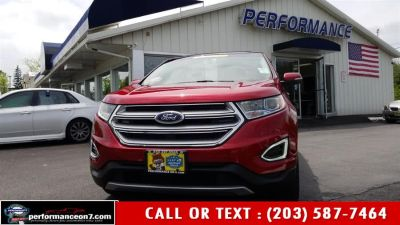 2015 Ford Edge 4dr SEL AWD (Ruby Red Metallic Tinted Clearcoat)