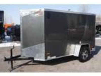 2019 RC Trailers 5x10SA Enclosed Cargo - Charcoal