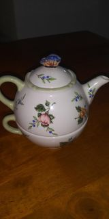 Princess House teapot and cup euc no chips no fading it's perfect 7.00