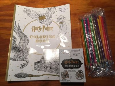 Harry Potter coloring Lot