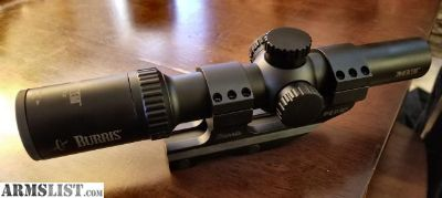 For Sale/Trade: Burris MTAC 1-4x24mm