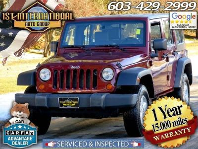 2008 Jeep Wrangler Unlimited X (Burgundy)