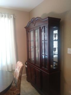 Hutch for matching dining set