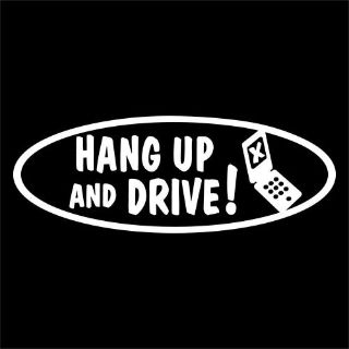 Purchase HANG UP and DRIVE decal for cell phone talk or text while driving police motorcycle in Mentor, Ohio, United States, for US $6.98