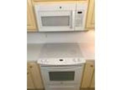 White Slide in Electric Stove and Microwave