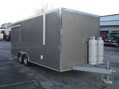 2017 25' X 8.25' Enclosed Concession Trailer RTR# 8113532-01