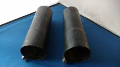 "Find PAIR 1967 Z28 CAMARO EXHUAST HEADER COLLECTOR EXTENSIONS. 3"" DIA. X 6"" LG. TABS motorcycle in Hutchinson, Kansas, United States, for US $200.00"