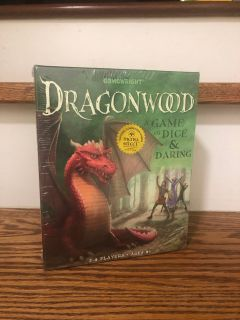 New Dragonwood - A Game Of Dice And Daring Board Game By GameWright.