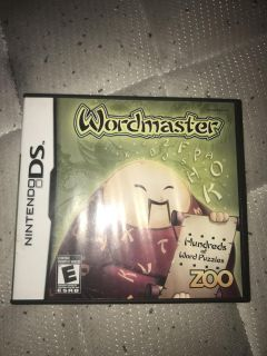 Word master hundreds of word puzzles Nintendo ds game
