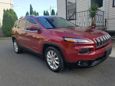2016 Jeep Cherokee FWD 4dr Limited (Deep Cherry Red Crystal Pearlcoat)
