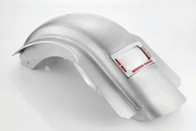 Find SKIRTED REAR RAW NONRIBBED FENDER W/LED TURN & BRAKE LIGHTS HARLEY TOURING 09-13 motorcycle in Gambrills, Maryland, US, for US $629.95