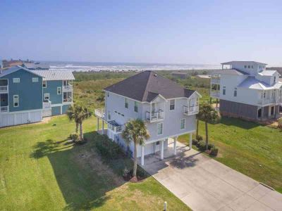 14470 Spyglass Circle Galveston Four BR, Furnished BEACH SIDE