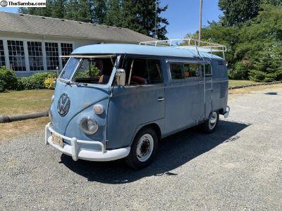 WTT 1963 VW split bus camper with westy interior