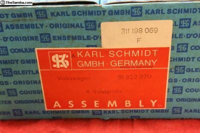 NOS German KS Piston/Cylinder Set, VW, LAST ONE