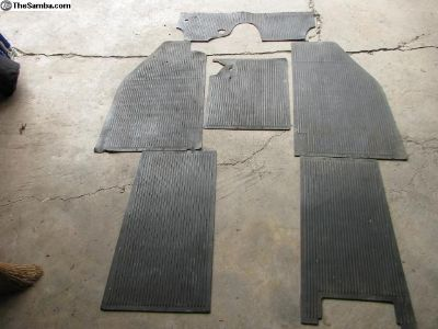 Original Set of Split Standard Floor Mats