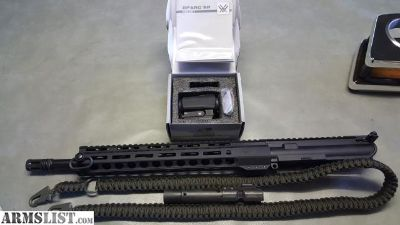 "For Sale: 9mm 16"" AR15 upper PSA"