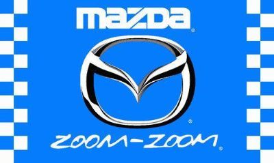 Find MAZDA ZOOM ZOOM FLAG 3' X 5' CHECKERED BANNER JX* motorcycle in Castle Rock, Washington, US, for US $17.95