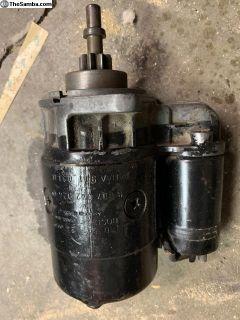 Used Bosch BAA 911 023B starter