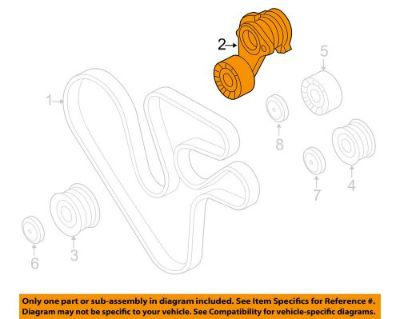 Purchase BMW OEM 11-12 740i-Belt Tensioner 11287627052 motorcycle in North Canton, Ohio, United States, for US $135.21