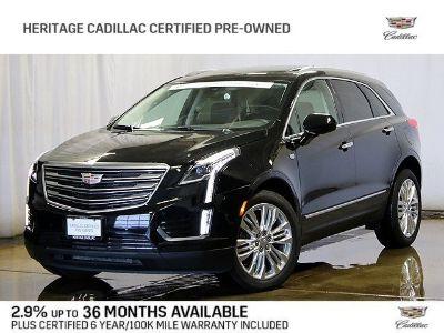 2019 Cadillac XT5 (Black Metallic)