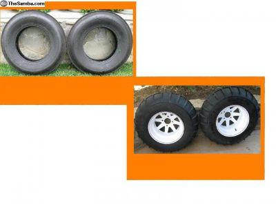 Desert Trak paddle tires & Wheels /RAZORBACKS