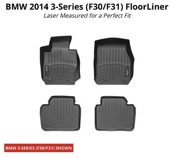 WeatherTech Floor Liner for BMW 3-Series