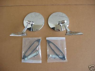Find 64 65 Chevelle El Camino Exterior Mirror Kit motorcycle in Placentia, California, US, for US $48.00