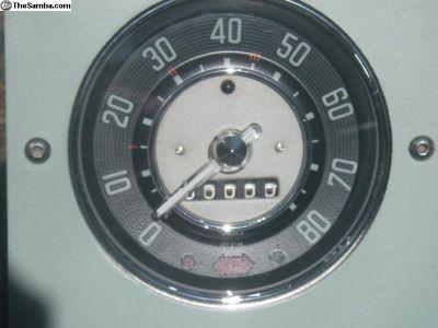 Oval Window Speedometer Resto Srvc- Full Warranty