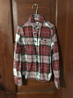 Abercrombie Kids flannel size med. Great cond.