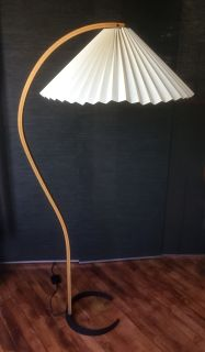1970's bentwood Caprani floor lamp