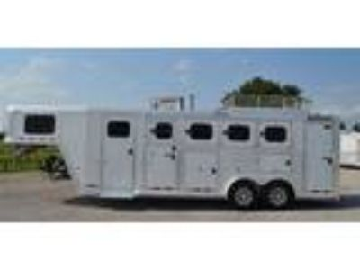 2017 Cimarron 4 HORSE WITH MID/ CLOSET TACK AND MANGERS 4 horses