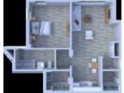 Beachwalk Apartments - One BR Floor Plan A8