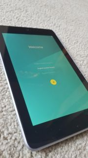 Google Nexus 7 32gb Tablet, case and charger
