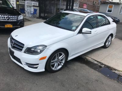 2014 Mercedes-Benz C-Class C300 4MATIC Luxury (Polar White)