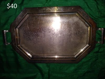 Silver Serving Tray