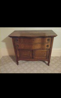 Antique Oak Wash Stand