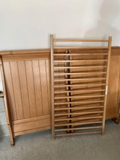 Simmons Wood Crib to Toddler Bed