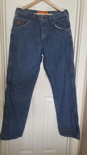 2 Pair Wrangler Flame Resistant Jeans
