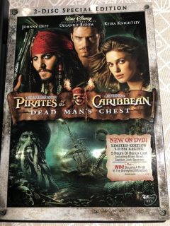 Pirates of The Caribbean - Dead Man's Chest - 2 Disc Special Edition - DVD