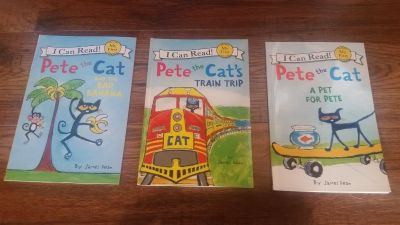 Pete the Cat easy reader books