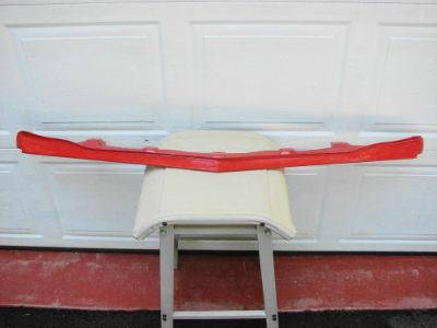 Find 74 PONTIAC TRANS AM SD SUPER DUTY NOS GM FRONT SPOILER MOLDED IN BUCCANEER RED motorcycle in East Earl, Pennsylvania, United States, for US $1,000.00