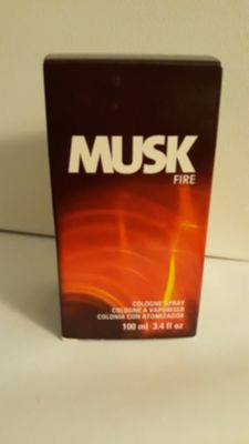 Musk Fire cologne
