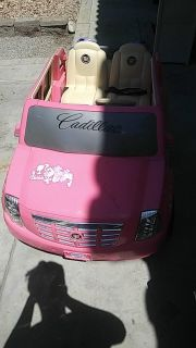 Battery operated child car