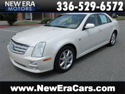 2005 Cadillac STS Base (White)