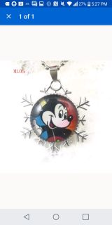 Mickey Mouse necklaces