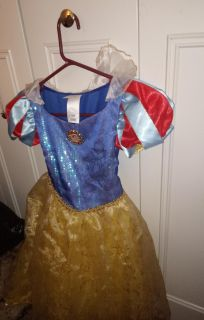 Snow White dress from Disney store with purse and gloves
