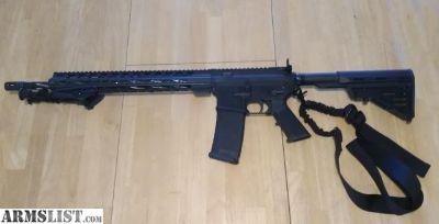 For Sale: AR15, keymod, fluted