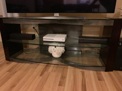 "60"" Glass TV Stand"